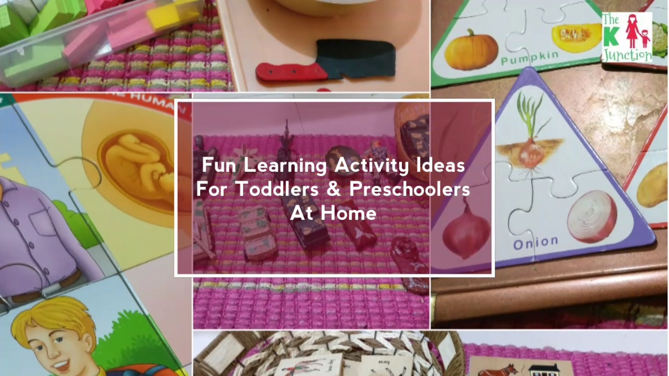 Fun Learning Activity Ideas For Toddlers Preschoolers 2 3 Years