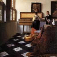 'La lliçó de música (Jan Vermeer de Delft)'