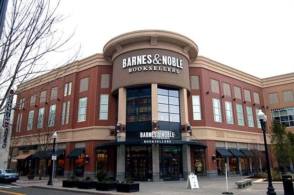 Hermosa librería de Barnes & Noble