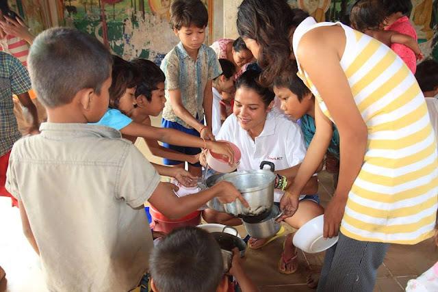 Activités humanitaires