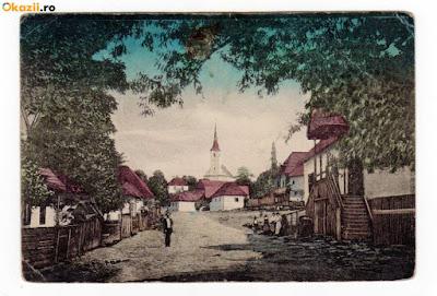 Korabeli képeslap Alsósófalváról