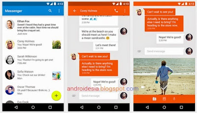 Messenger Android by Googlge