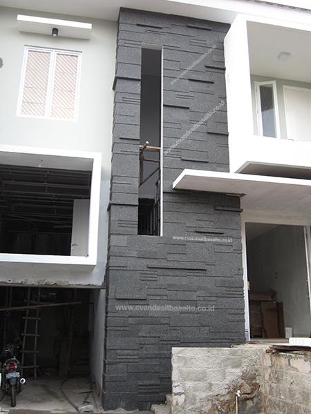 batu alam untuk dinding rumah depan