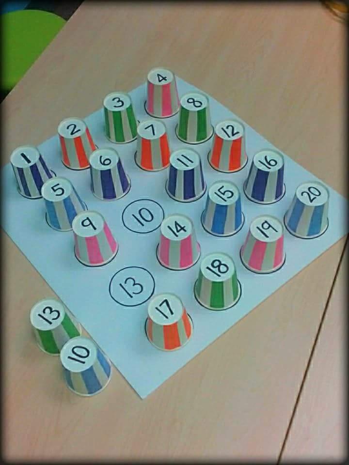 Guna Cawan Kertas Sekeping Kadbod Idea Kreatif Homeschool