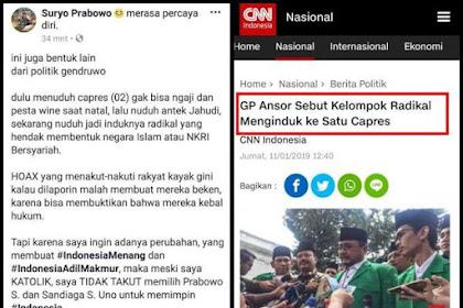 Letjen TNI (Purn) Suryo Prabowo: Ini Politik Gendruwo, Dulu Nuduh 02 Gak Bisa Ngaji, Natalan, Yahudi, Sekarang Induk Radikal
