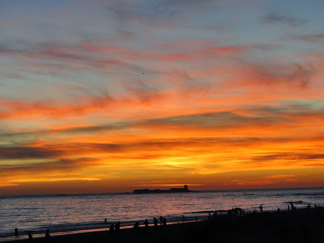 Isla de Sancti Petri desde la Playa de la Barrosa