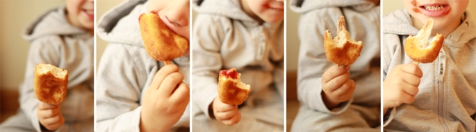receta, recipe, fish, pescado, nugget, niños, helado, kids, icecream