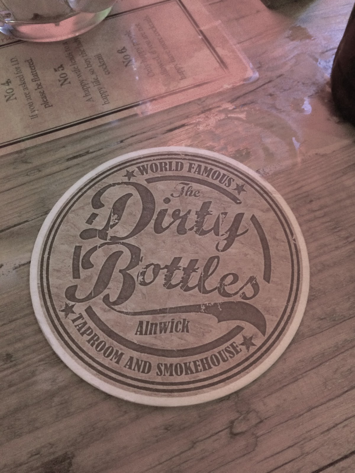 The Dirty Bottles Tap Room and Smokehouse, Alnwick