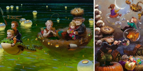 00-Victor-Nizovtsev-Daydreaming-with-Fantasy-Oil-Paintings-www-designstack-co