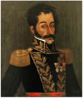 Retrato de Simón Bolívar, José Gil de Castro