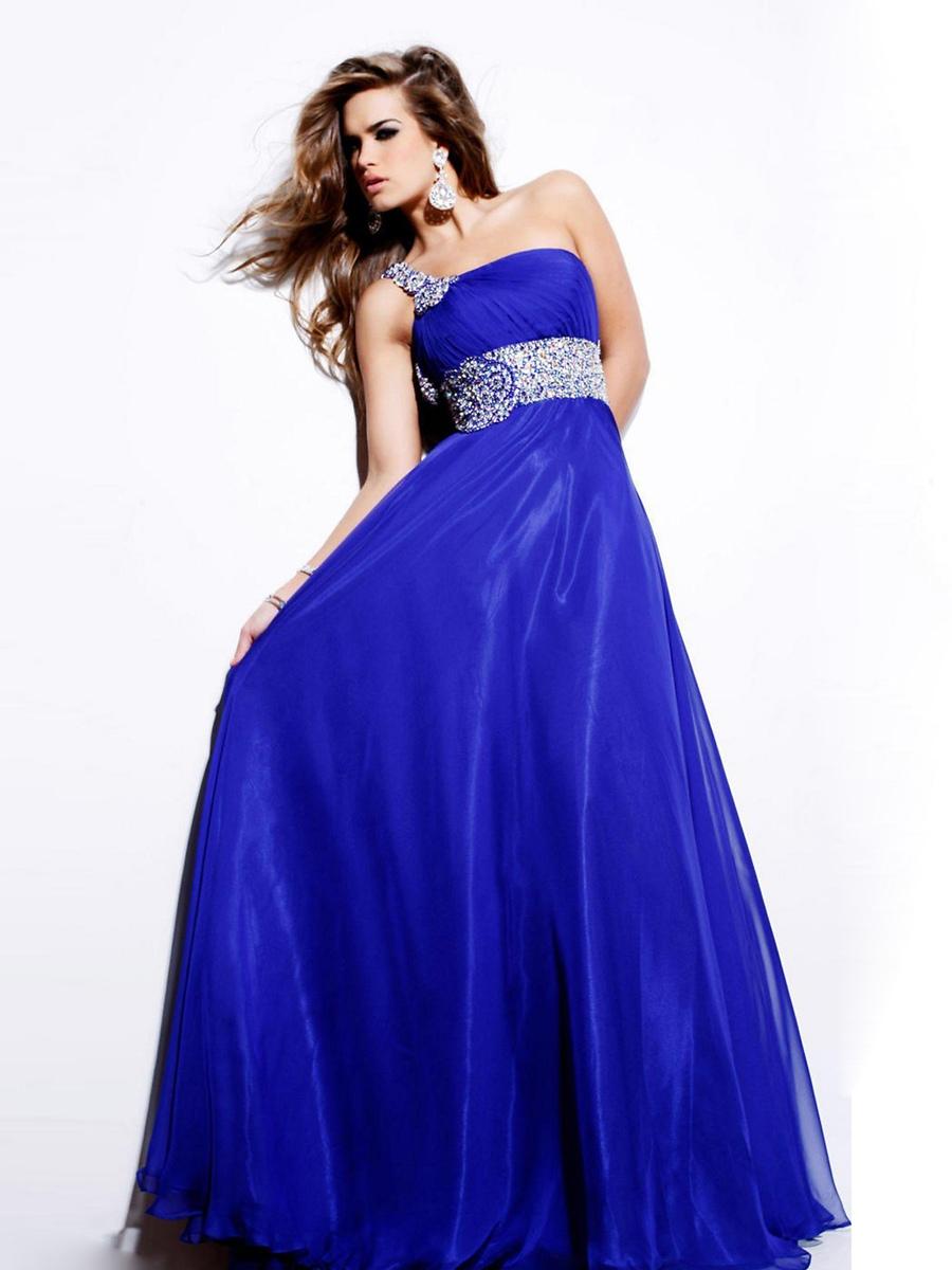 9855ff686 Vestidos de Noche Azul Rey 2017 ¡Tú Color Favorito!