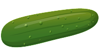 cucumber cliparts coloring pages images