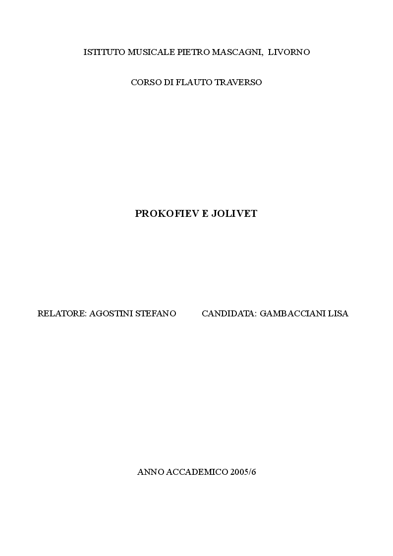 Buy and read my thesis on Prokofiev and Jolivet. Preview