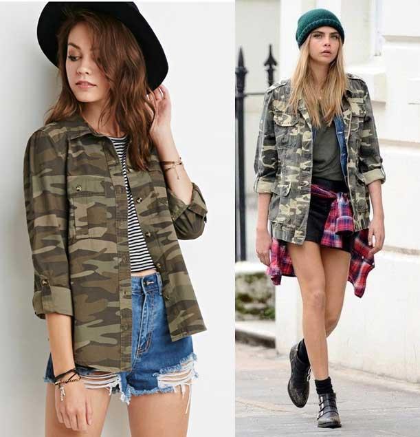 casaca militar moda