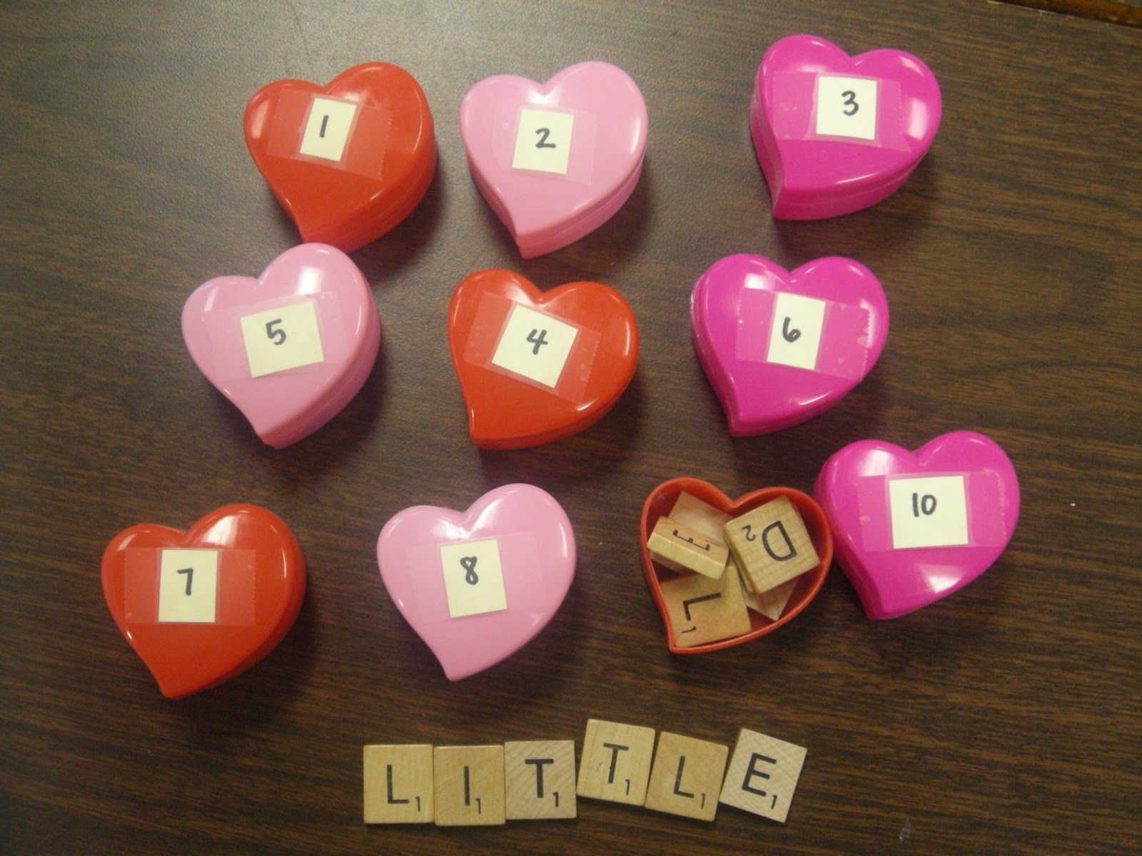 F Is For First Grade Valentine Spelling Activity