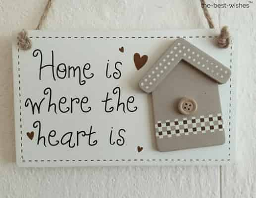 home is where the heart is good morning relationship quotes