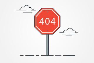 Configurar el error 404 en Blogger