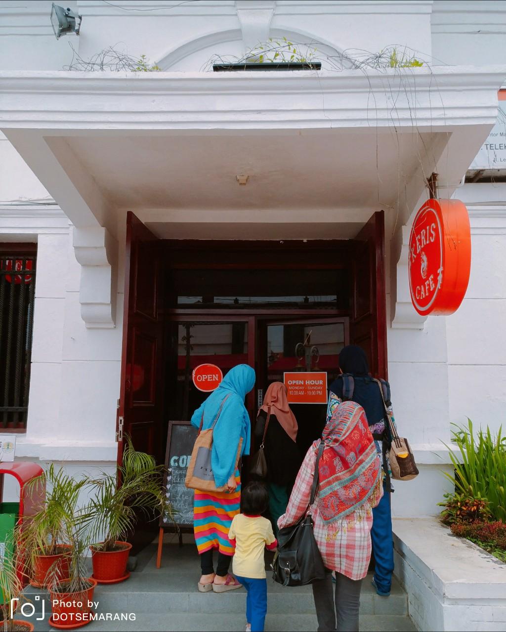 Review Keris Cafe Kota Lama Semarang