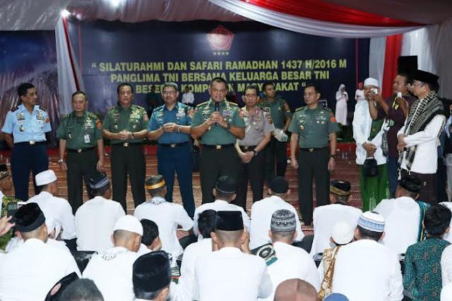 Panglima TNI : Prajurit Mati Hanya Untuk Merah Putih