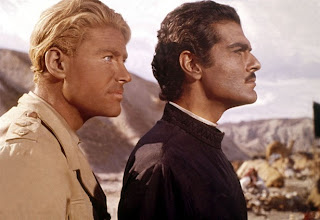 Lawrence of Arabia 1962 movieloversreviews.filminspector.com Peter O'Toole Omar Sharif