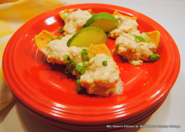 Green Chili Chicken Enchilada Dip at Miz Helen's Country Cottage