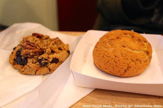 Bun Chika Bun Bun and Oatmeal Raisin Cookie at Chikalicious