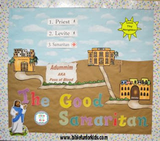 http://www.biblefunforkids.com/2017/12/the-good-samaritan-bulletin-board.html
