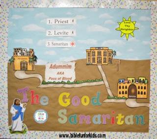 http://www.biblefunforkids.com/2017/12/the-good-samaritan-bulletin-board.html