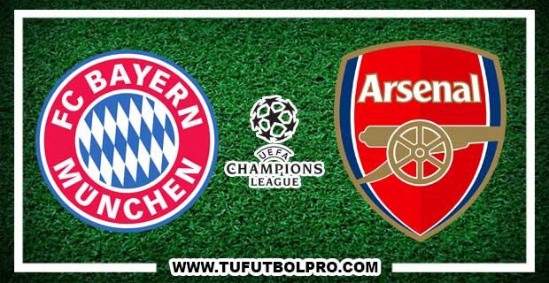 Ver Bayern Múnich vs Arsenal EN VIVO Por Internet Hoy 15 de Febrero 2017