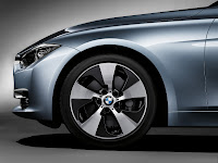 2013 BMW 3-Series Sedan (F30) ActiveHybrid 3: Exterior Detail: Special Dedicated Wheel Rim Design