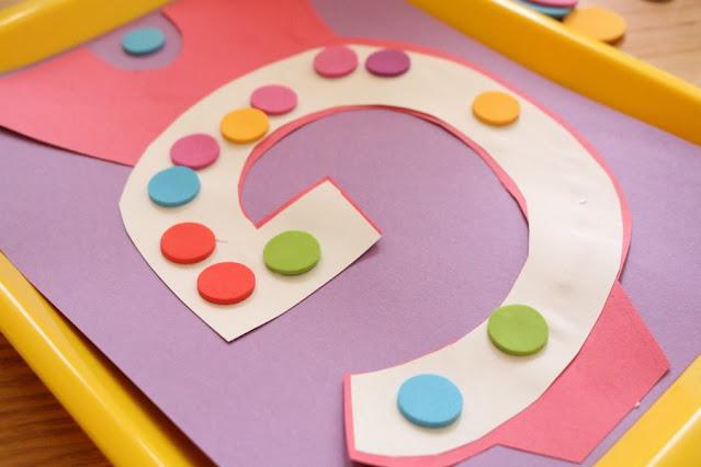 letter g for gumball alphabet craft