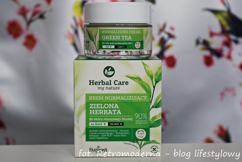 Herbal Care Zielona Herbata Krem.