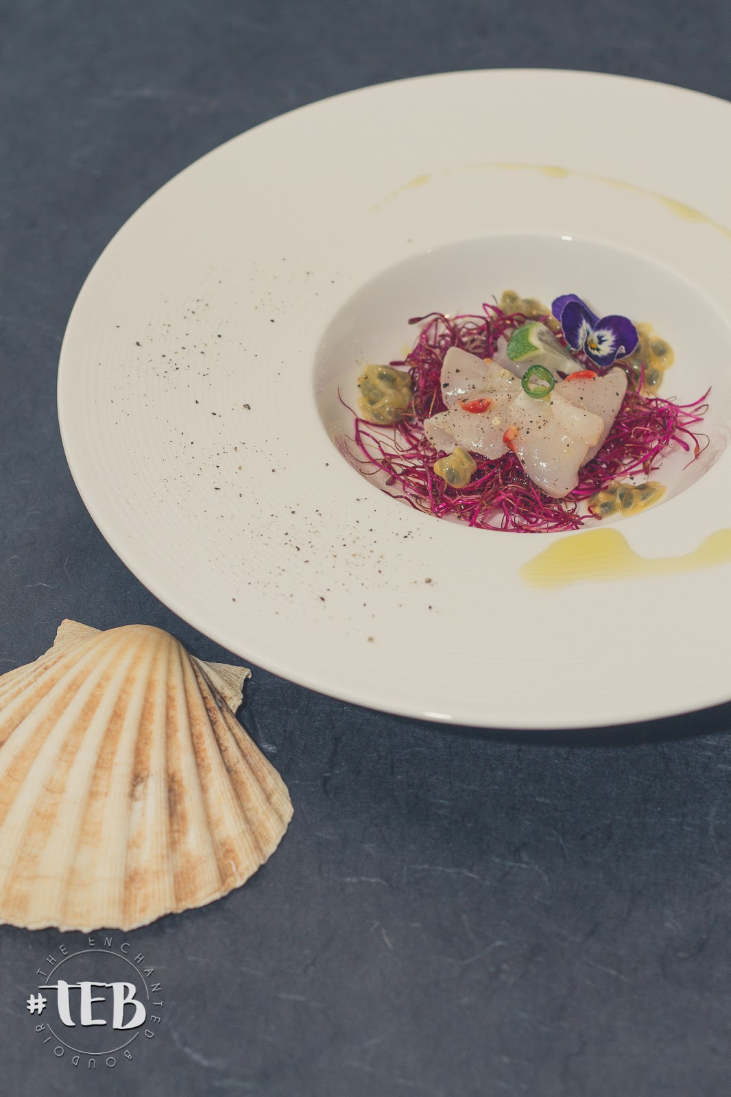 COOKING WITH LE PRINCE: Scallop Carpaccio