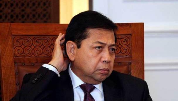 Ditetapkan Kembali Sebagai Tersangka, Setya Novanto Polisikan Pimpinan KPK
