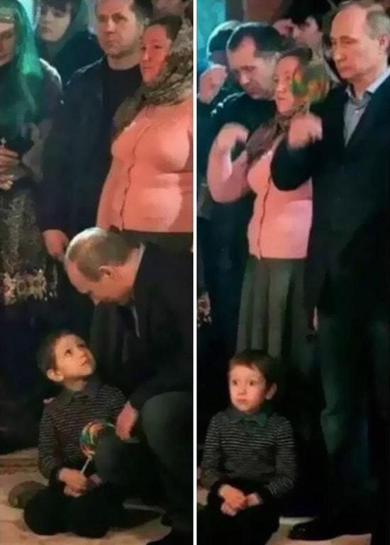 Vladimir Putin a ser Vladimir Putin