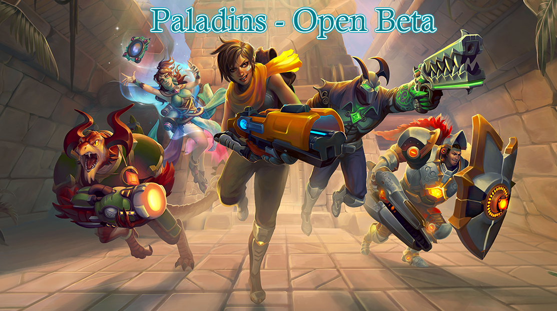 Paladins - Open Beta, New FPS from Smite Developers