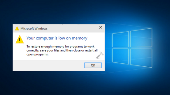 Mengatasi Windows 10 Low Memori