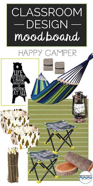 Camp Classroom inspired by the outdoors!