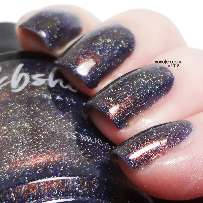 xoxoJen's swatch of kbshimmer: unstaple