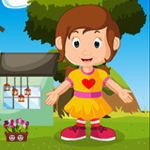G4K Little Pretty Girl Rescue Game