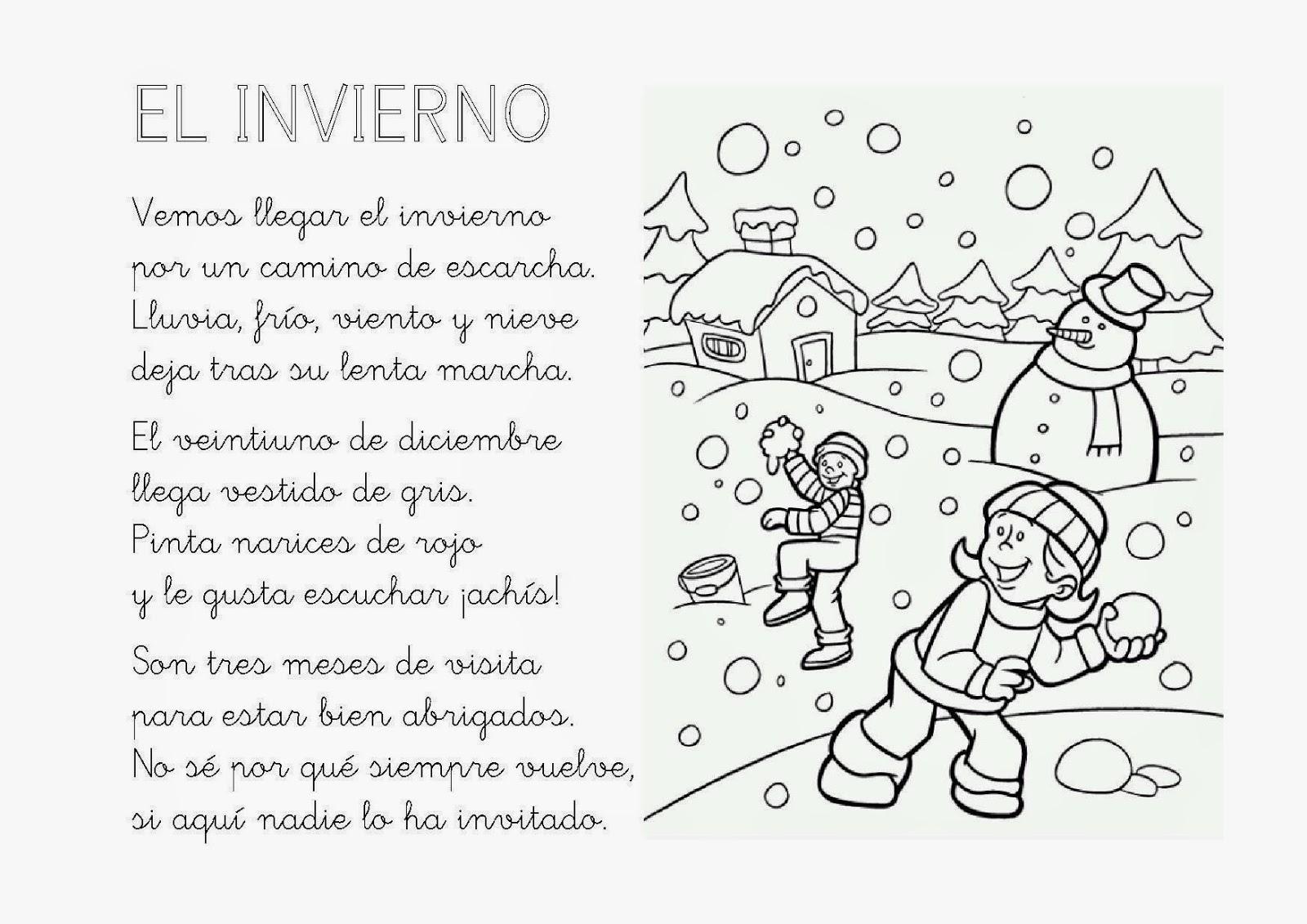 Venimos a aprender poes a invierno - Proyecto el invierno ...