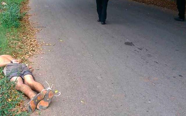 Cadáver amarrado de pies y manos encontrado en Los Bucares