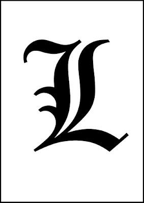 Death Note, personnage lettre L