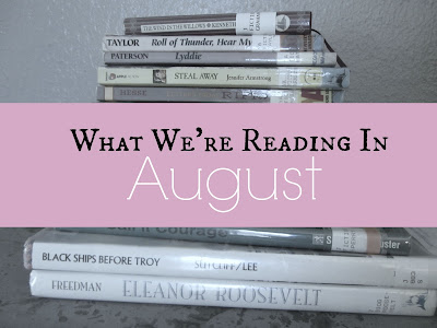 What We're Reading in August 2015 {The Unlikely Homeschool}