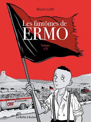 """couverture de """"Les Fantômes de Ermo T1"""" de Bruno Loth chez la Boîte à bulles"""