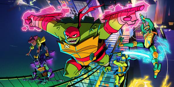 Rise of the Teenage Mutant Ninja Turtles Tartarugas Ninja