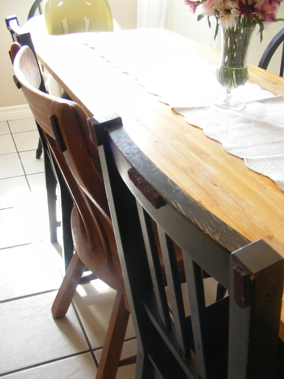 Quick Tip How I Prevent Scuff Marks On My Dining Room