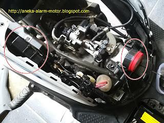 Cara pasang alarm motor pada Honda Beat POP
