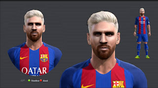 Face Lionel Messi New Look 2016 Pes 2013