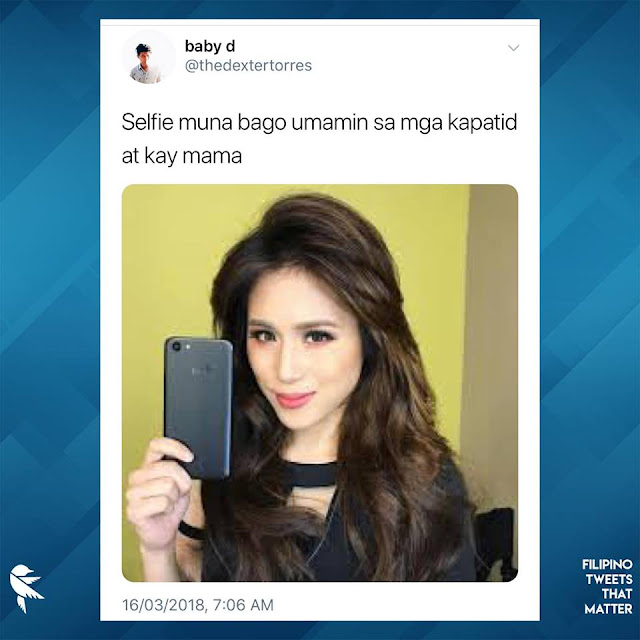 Hilarious 'Selfie Muna Bago' Tweets About The Characters In The Movie 'Four Sisters and a Wedding'